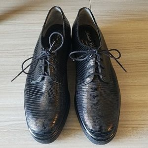 NEW Robert Clergerie Black Leather shoes - US Sz 6